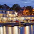 Stay at The Picton Harbour Inn and walk right out from your room door, to your charter boat docked r